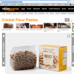 Trend Hunter on Cricket Pasta (media)
