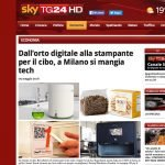 Sky 24 Italia on Cricket Pasta