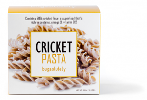Cricket Pasta package (front)