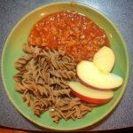Cricket Pasta cauliflower
