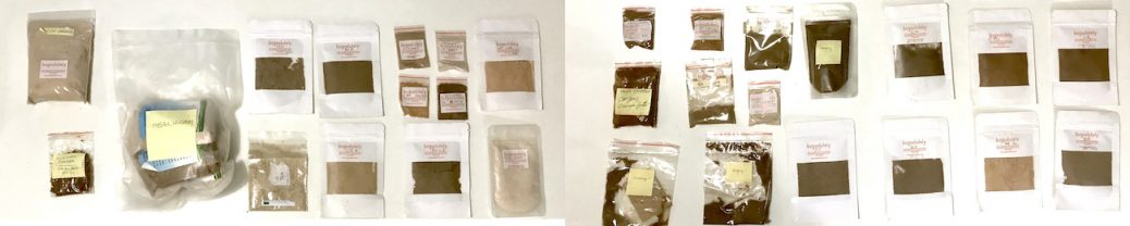 insect powder samples